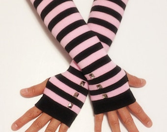 Cotton Long  Arm Warmer Fingerless