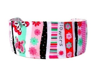 Bargain Headbands, Whimsical and Joyful, Flowers, Butterflies and Stripes, Totally Adorable Headband