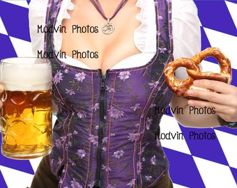 Beer Photograph, Modern Art Photo, Bavaria Beer