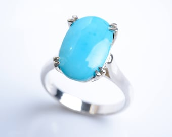 Turquoise Ring Silver Persian
