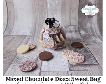 Sweet bags, chocolate gifts, candy bags, favour bags, wedding favours, party favours, party favours for kids, gift bags, baby shower favours