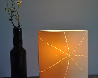 Starfish Ellipse Porcelain Lamp