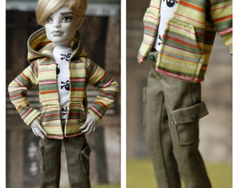 Patterns for Slim figure Boy Dolls