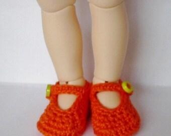 Littlefee, YOSD  Shoes Oh So Orange