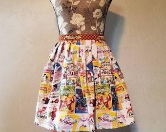 Disney Half-Apron with Pockets