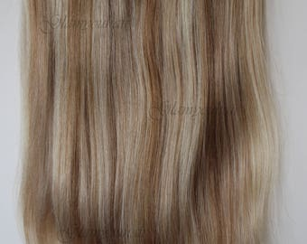 "16"" 100G HALO-miracle Secret - wire 100% Human Hair extensions/ 115G/ WOW!! 12/16/613"