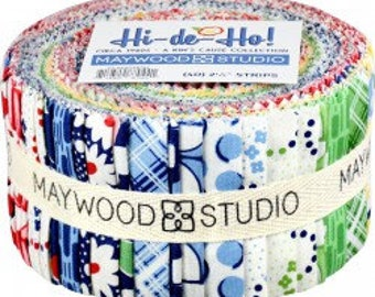 "Maywood Studio Hi-De-Ho! Jelly Roll 2.5"" strips"