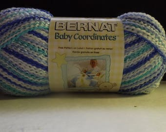 Bernat-Baby-Co-ordinates - Buddy Blue #49128 - 120-Grams - 4.25-oz - 392 -yards-3-Light