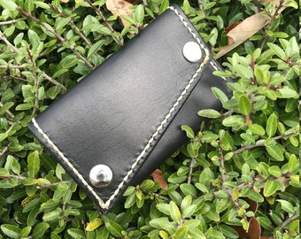 The Oliver Card Wallet in Black