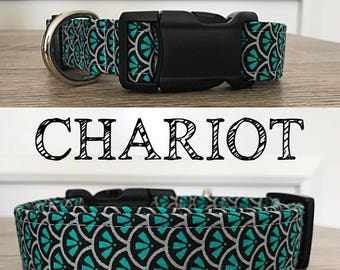 Chariot - Abstract Print Collar