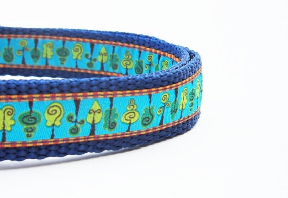 Barking Up The Wrong Tree - Dog Collar / Handmade / Pet Accessories / Adjustable