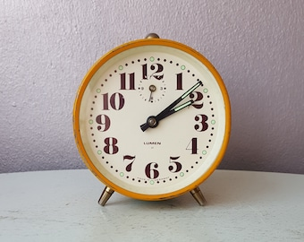 Vintage Alarm Clock Lumen Germany years 60