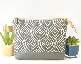 Makeup Pouch, Zipper Pouch, Travel Pouch, Cosmetic Pouch, Pencil Pouch, Upholstery Pouch