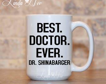 Personalized Gift for Doctor Mug Dr Mug Doctor Gift Surgeon Gift Medical Student  MSA190