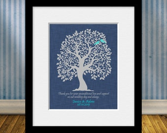 Parents Thank You Gift, Brides Parents Gift, Grooms Parents Gift, Mother of the Groom, Mother of Bride, Thank You Gifts