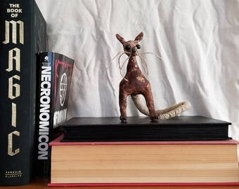 Filthy Rat Bookshelf Decoration