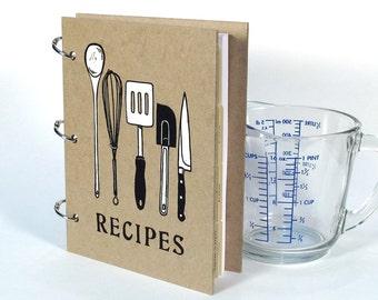 Recipe Book - Blank Journal - Utensils (5 in. x 7 in.) - Size No.2