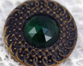 Beautiful Antique Collector's Button or Sewing Button  #368-AS