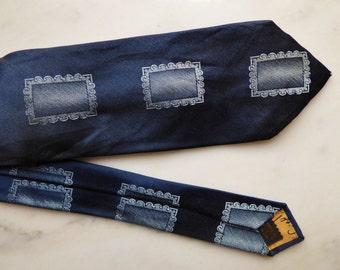 Neck tie Silk Vintage Skinny Necktie
