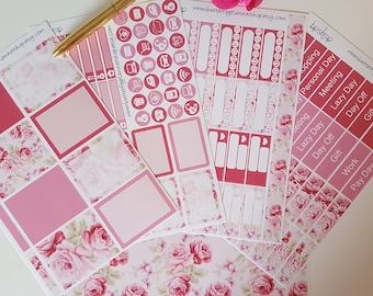 Planner sticker for the vertical ECLP glossy