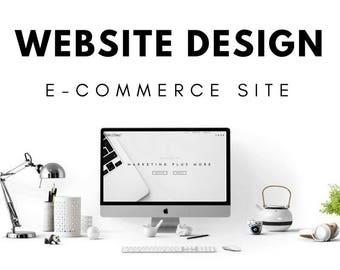 E-Commerce Website Design (Wordpress) | Custom Website | Web design | Website | Professional Website | Business Website | Shopping Cart