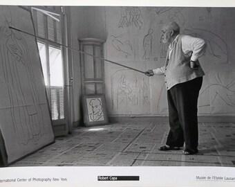 Matisse print by Robert Capa, - 70 x 50cm, Classic Black and White