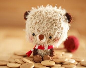 amigurumi bear for blythe - made to order -  bibu