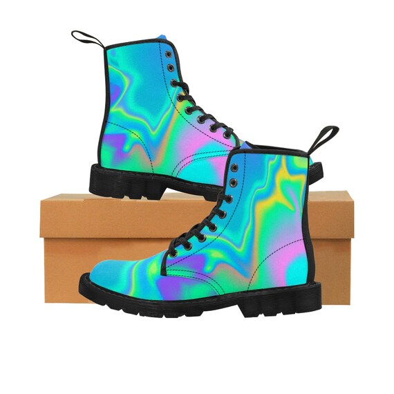 Pro Boots WomenS Holographic Martin Nation 1qnAH5gw8