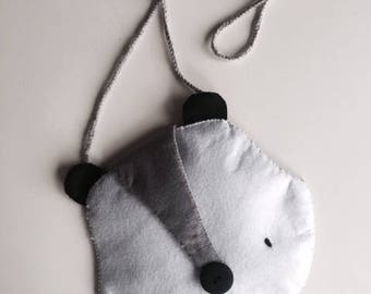Raccoon raccoon bag / Bolso mapache