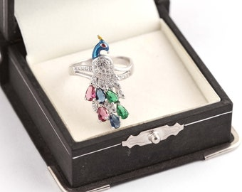 925 Sterling Silver Ring Beautiful Designe