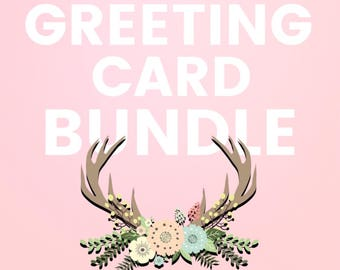 Card Bundle, Greeting Cards, Christmas Cards