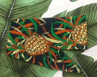 RETRO HEADBAND // tropical // pineapples // summer // fruit // island // resort // pinup // vintage // hair accessory // head wrap