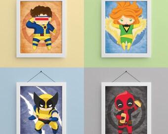 Mutants 8x10 Prints