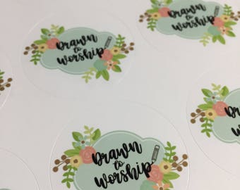 LOGO Stickers, Packaging Stickers, Labels, (your logo) Stickers, labelling stickers