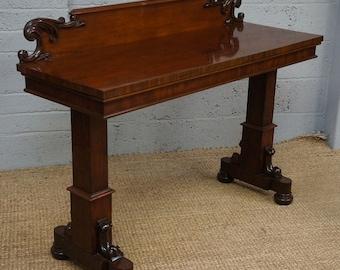Antique Mahogany Metamorphic Buffet / Side Table