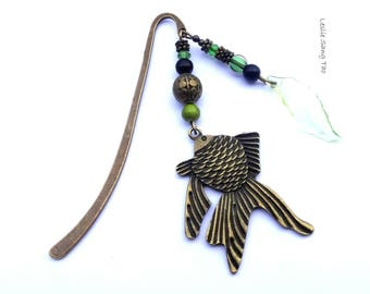 """To offer or afford! Attractive bookmark """"fish"""" Japanese style"""