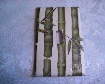Bamboo Light Switch Plate Cover