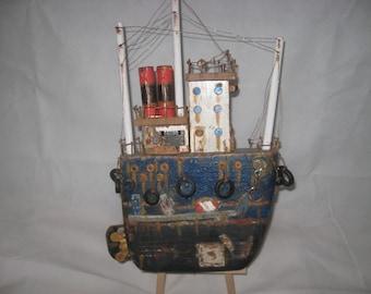 Handmade Boat Art.