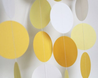 Baby shower decoration-  baby showers, birthday parties, bridal showers, weddings, gender neutral, gender reveal, yellow and white