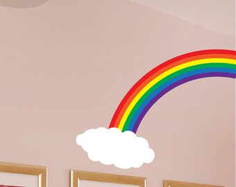 Rainbow Cloud - Vinyl Wall Decal
