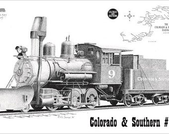 Colorado and Southern #9