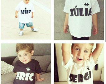 Children's personalized T-shirt