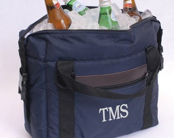 Blue Soft-Sided Beverage Cooler (e186-1171) - Free Personalization