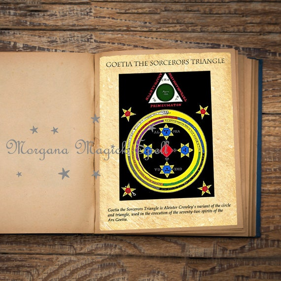 Goetia the Sorcerors Triangle