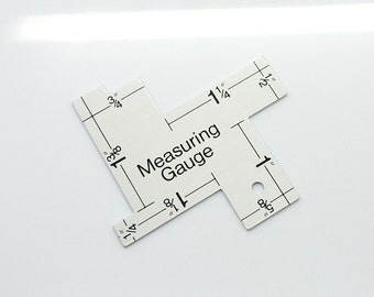 Measuring Gauge, Quilting Supply, Measuring Tools, Measuring Ruler, Jewelry Tools, Portable Tools, Sewing Tool, Measure Ruler