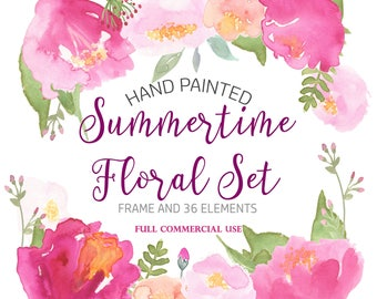 Watercolor floral clipart 31 pink flowers purple red blush light watercolor rose clipart hibiscus clipart pink floral clipart watercolor floral clipart watercolour flower clipart pink flower clipart mightylinksfo Image collections