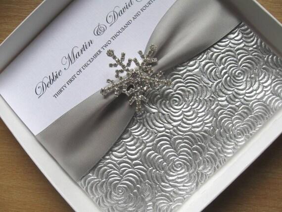 Hochzeitseinladungen winter