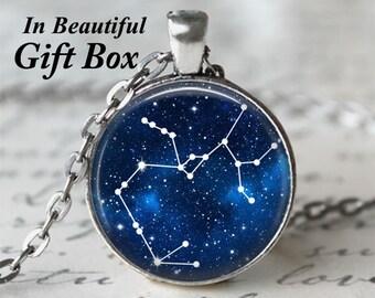 Zodiac Jewelry • Sagittarius Star Sign • Sagittarius Necklace • Constellation Necklace • Birthday Necklace • Sagittarius Zodiac
