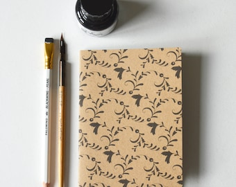 Notebook - A6, RECYCLED, ECO-FRIENDLY, 'folk'