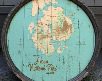Acadia National Park, ME Barrel End